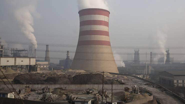 In China führt die Energieproduktion mit Kohle zu grossen Schadstoffemissionen. (Archivbild)