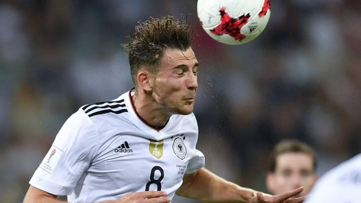 Leon Goretzka traf am Confederations-Cup zweimal für Deutschland