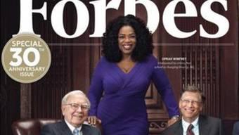 Oprah Winfrey hat es wieder geschafft: Sie ist laut Forbes die bestbezahlte Frau in Hollywood