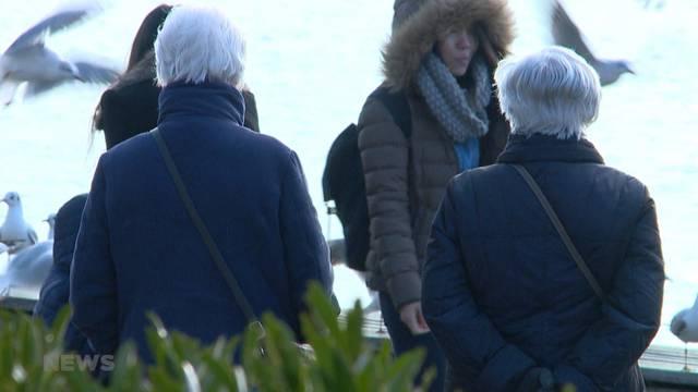 Schweizer sorgen sich am meissten über Altersvorsorge