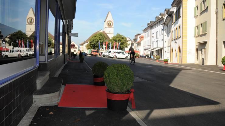 """27 Geschäfte und Restaurants machen bei der Aktion """"Städtli Klingnau jetzt wieder offen"""" mit."""