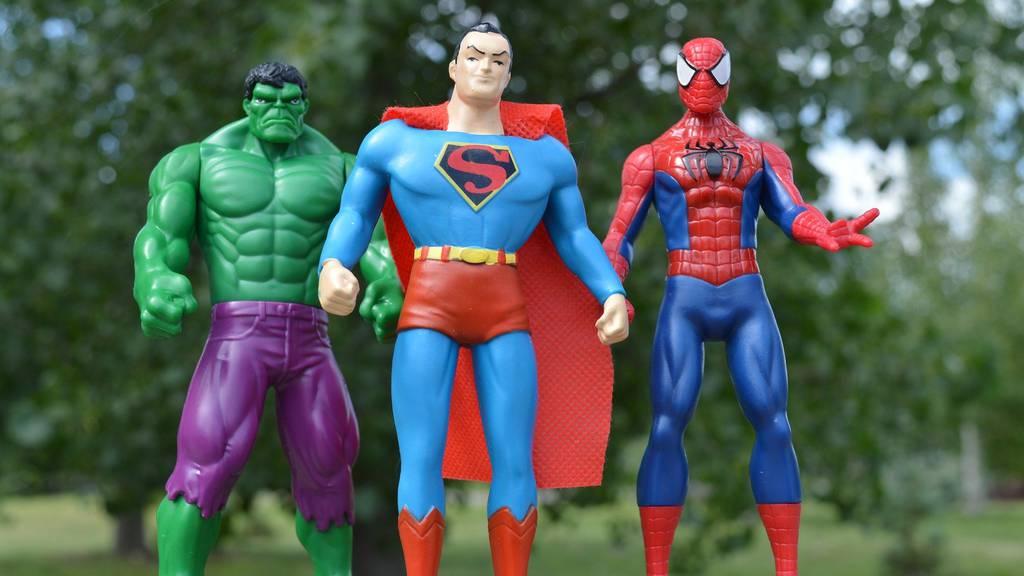 Teste dein Superhelden-Wissen!