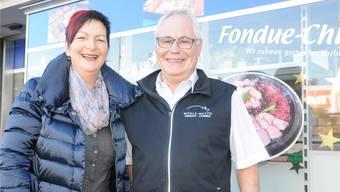 Margrith und Paul Mühle freuen sich, ihr Fleischfachgeschäft in neue Hände übergeben zu können. Bruno Muntwyler