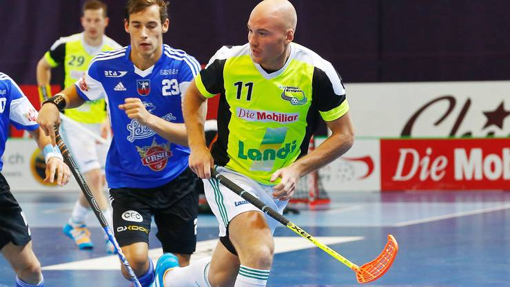 Henrik Olofsson (r.) will mit Wiler-Ersigen die erste Hürde Grünenmatt nehmen.