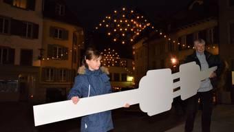 Weihnachtsbeleuchtung Brugg
