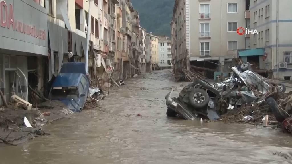 Heftige Überschwemmungen in der Türkei: Mindestens 38 Tote