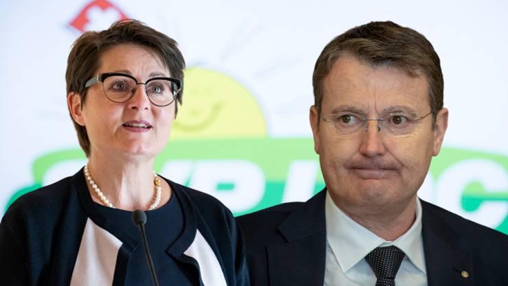 Franziska Roth und Thomas Burgherr.