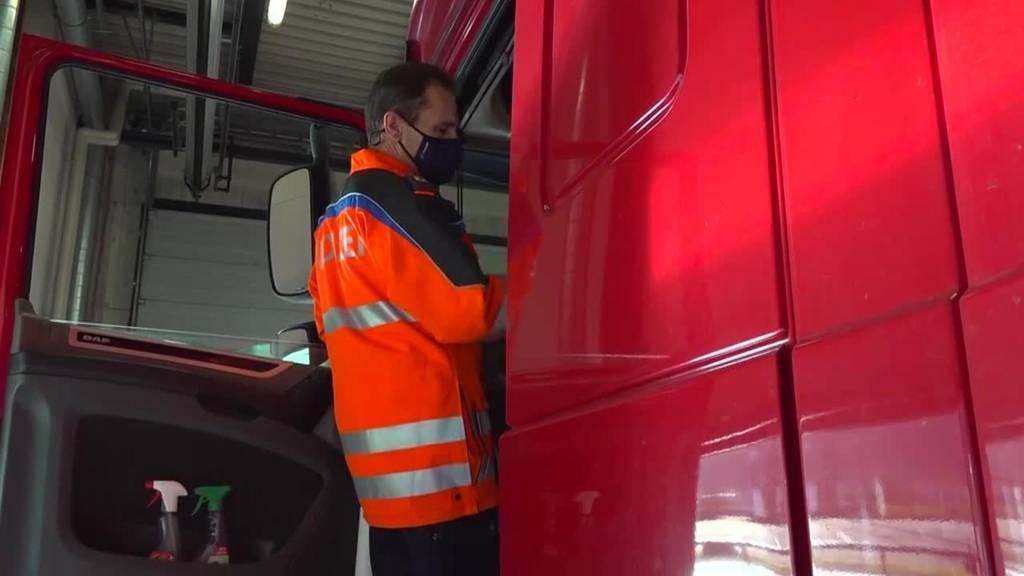 Die Überwacher: Der Lastwagen-Kontrolleur