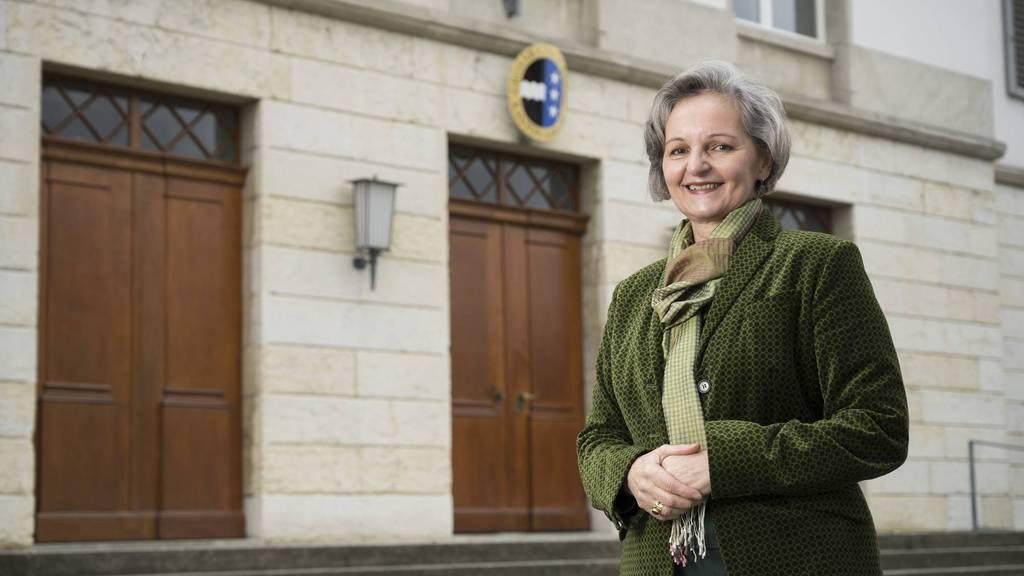 Renata Siegrist-Bachmann ist die höchste Aargauerin