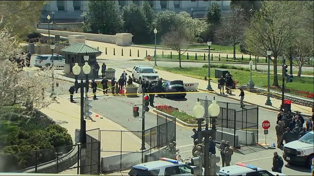 USA: Angreifer tötet Polizist am Kapitol - Flaggen auf halbmast