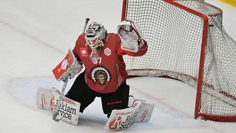 Musste sich gegen Ligakonkurrent Lulea dreimal geschlagen geben: Frölundas Goalie Johan Mattsson