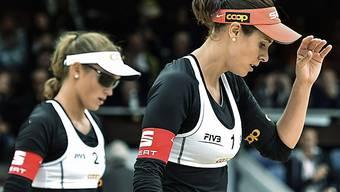 Isabelle Forrer (r.) und Anouk Verge-Depre (l.) stehen im Final