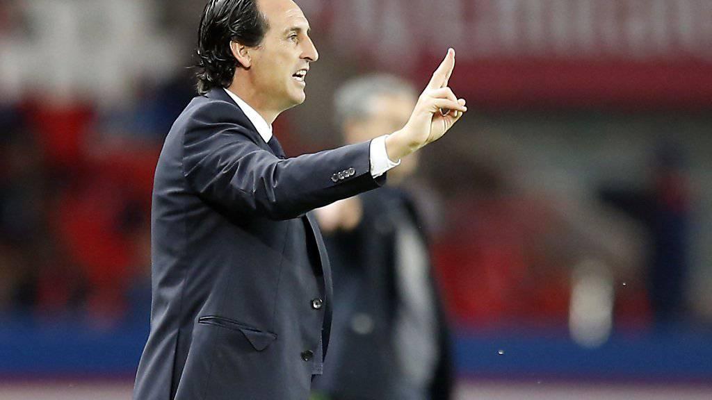 Zweite Niederlage im siebten Spiel: Unai Emerys Kommandos kommen bei seinem neuen Klub Paris Saint-Germain noch nicht richtig an