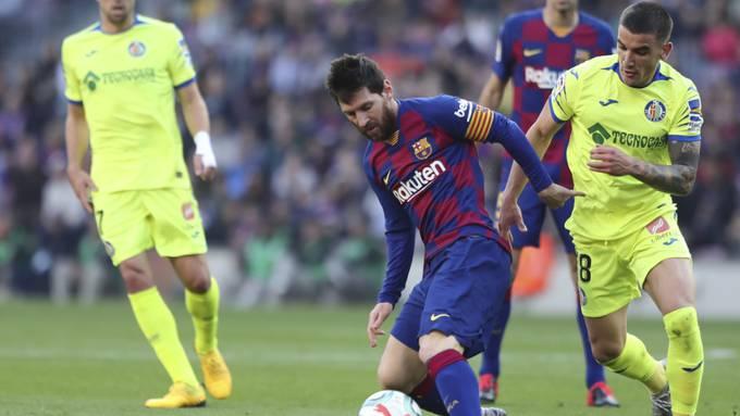Lionel Messi (am Ball) ist zu einem Laureus-Weltsportler des Jahres gewählt worden