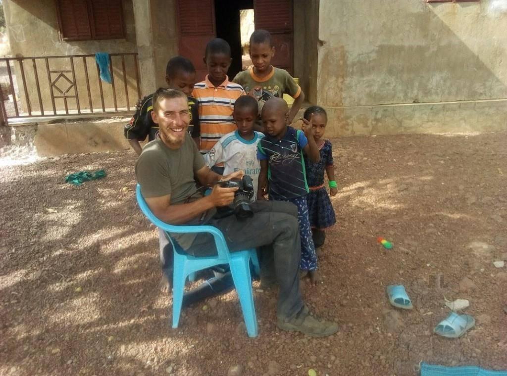 Kinder in Guinea.