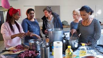 Workshop der Kulturen in Gretzenbach anlässlich der Aktionswoche «So gegen Rassismus»