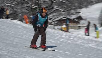 Skifahren von Grund auf lernen: Das konnten 36 Flüchtlingskinder am Mittwoch in Grindelwald.