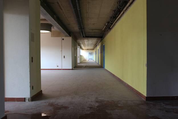 Rückbau des Gebäudes ist schon weit vorangeschritten