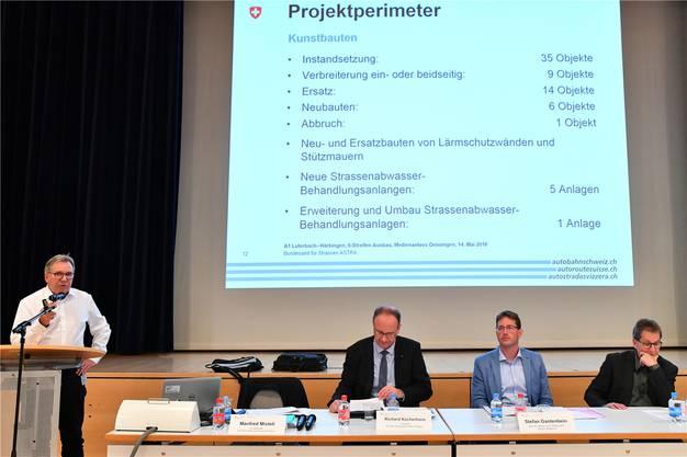 Manfred Misteli, Projektleiter des Astra für den Ausbau, erklärt die Details.