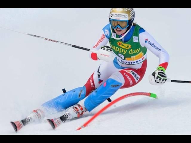 Frauen-Komibination St. Moritz 2017:  Michelle Gisin fährt auf den zweiten Platz