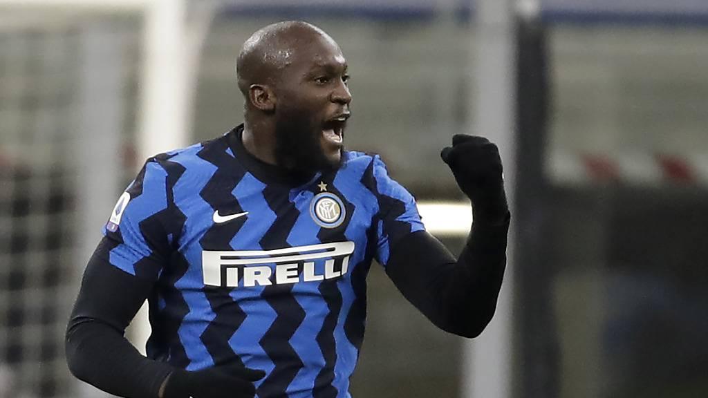 Lukaku führt Inter vor dem Mailänder-Derby an die Spitze