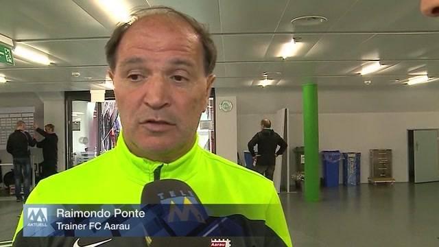 """Der FC Aarau steigt ab: """"Das ist ein trauriger Moment"""", sagt Raimondo Ponte."""