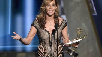 """Emmys wie diesen hat Allison Janney schon mehrere - neu ist sie auch auf dem """"Walk of Fame"""" verewigt. (Archivbild)"""