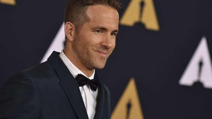 """Ryan Reynolds kriegt zu Weihnachten einen Stern auf dem """"Walk of Fame"""". (Archivbild)"""