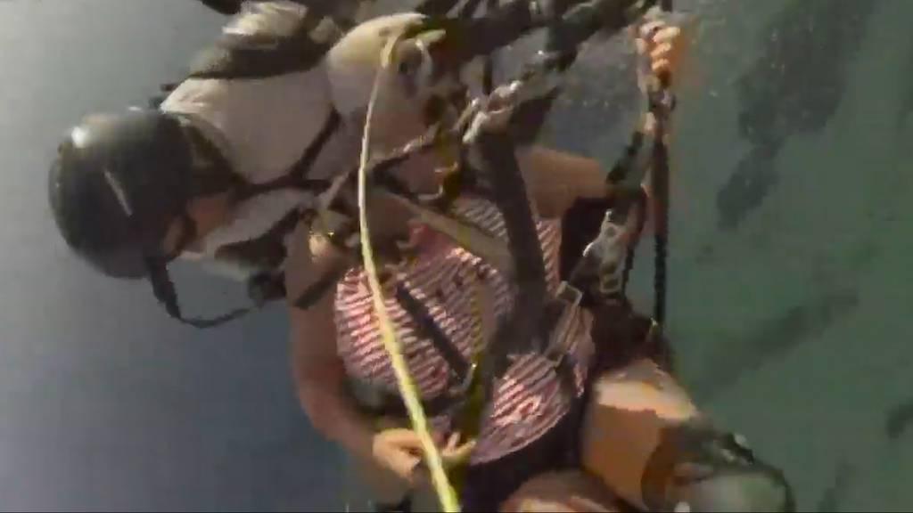 70-Jährige erlebt Horror-Gleitschirmflug