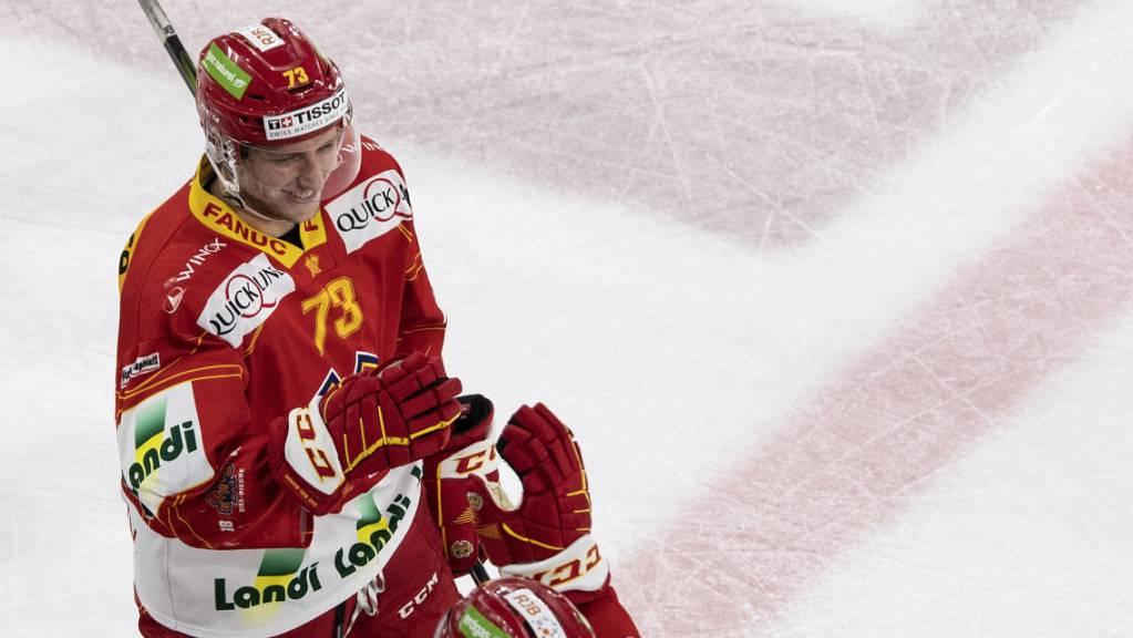 Mike Künzle soll bis 2022 in Biel bleiben