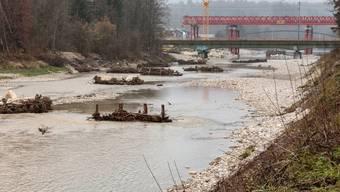 Hochwasserschutz an der Emme