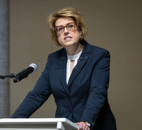 Désirée Stutz, Fraktionspräsidentin SVP