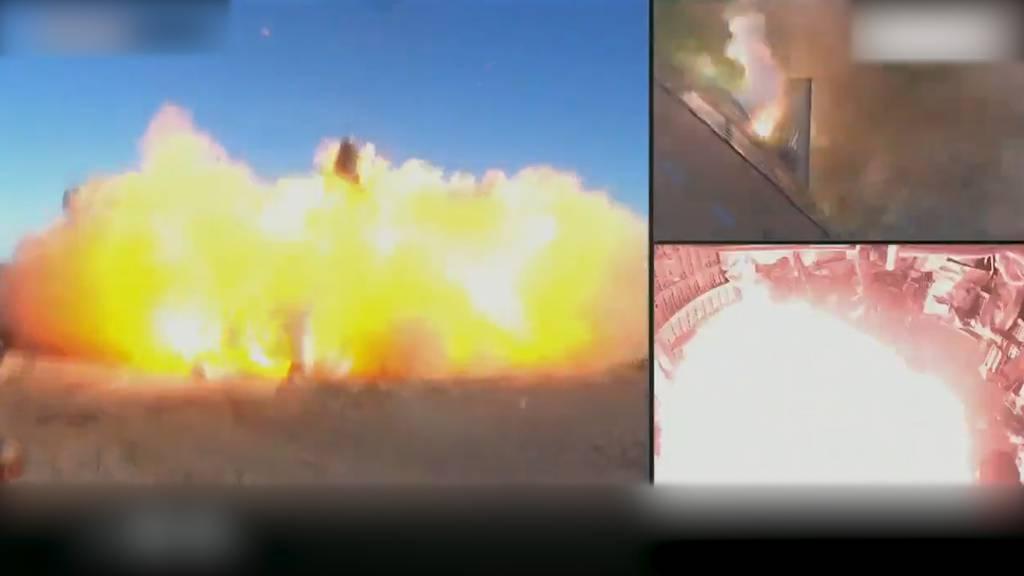 SpaceX-Rakete explodiert nach Testflug bei Landung