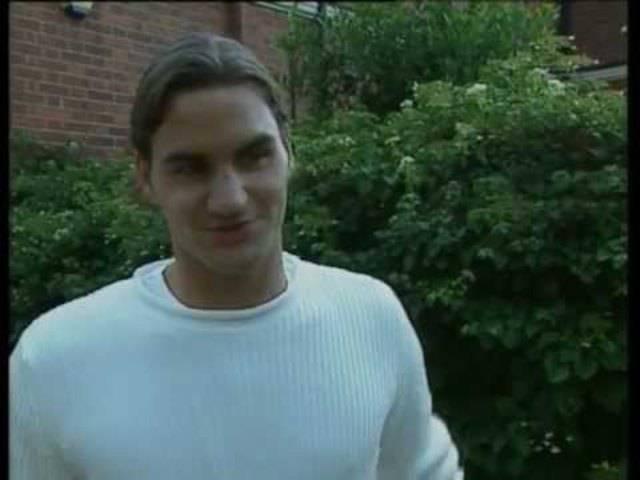 Interview nach seinem ersten Grand-Slam-Titel. Aus der Sendung «Sport aktuell» (07.07.2003).