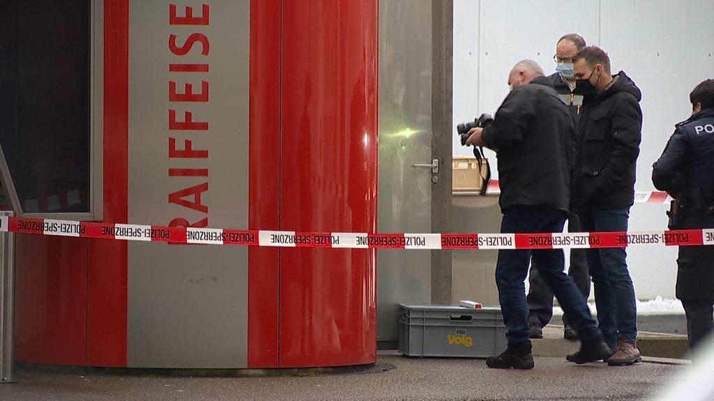Versuchte Bancomat-Sprengung in Zuzwil (SG)