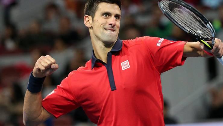 Im Moment nicht zu stoppen: Novak Djokovic gewann in Peking sein achtes Turnier in diesem Jahr.