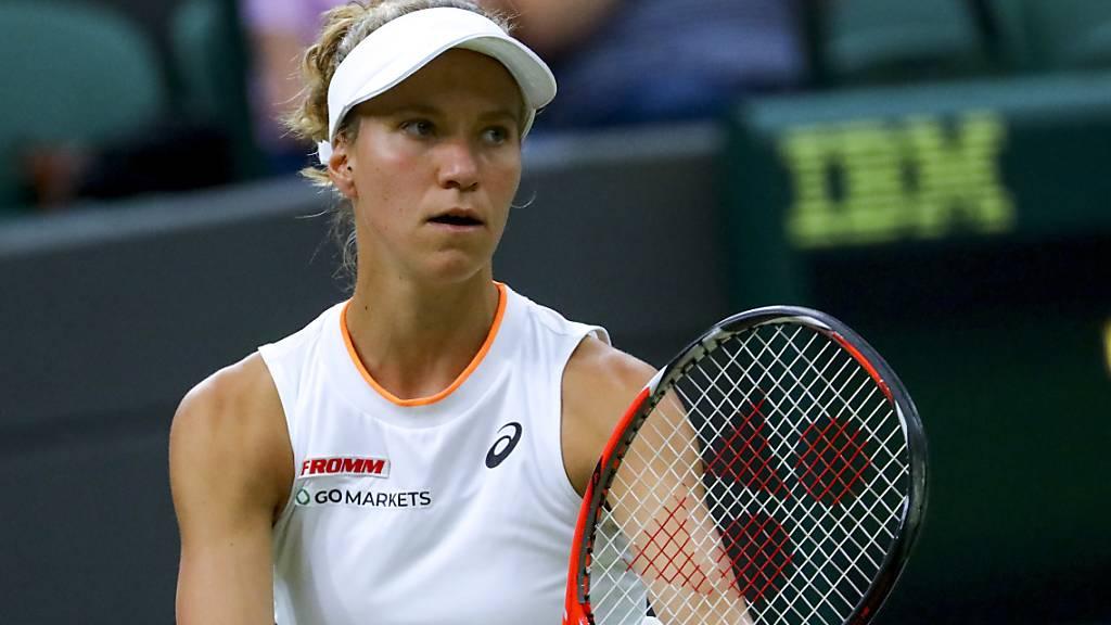 Ende eines märchenhaften Laufs: Im Viertelfinal fand Viktorija Golubic gegen Karolina Pliskova keine Lösung mehr