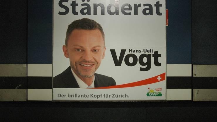 SVP-Kandidat Vogt wirbt mit Stoppelbart