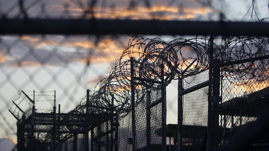 Sind seine Tage gezählt? Aus dem US-Gefangenenlager Guantanamo wurden 15 Häftlinge freigelassen - Präsident Obama hat die Schliessung versprochen. (Archivbild)