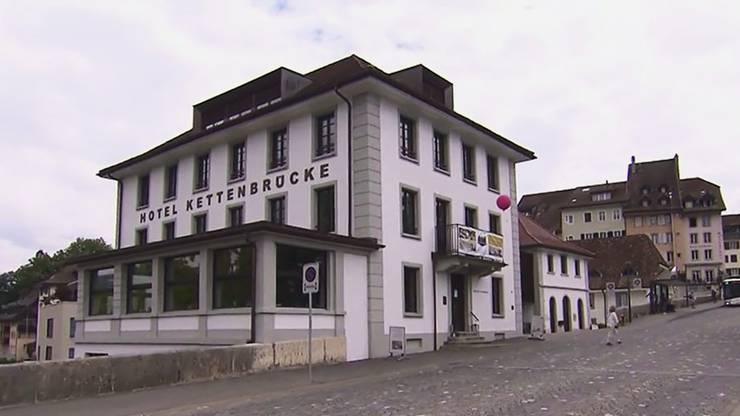 Das Hotel und Restaurant Kettenbrücke