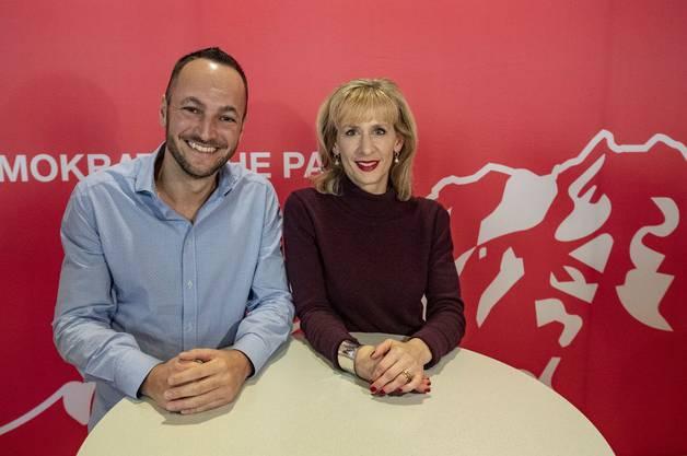 Mathias Reynard und Priska Seiler.