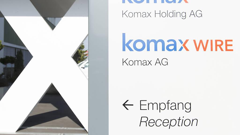 Komax schreibt im Coronajahr rote Zahlen