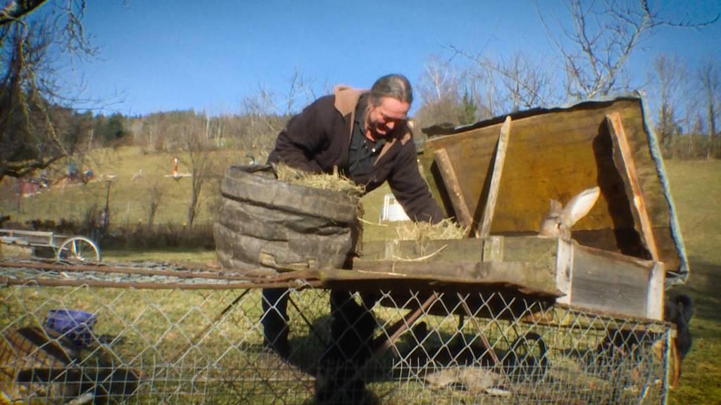 Lebenskünstler: Silvan Köppel und seine Oase