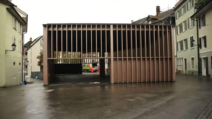 Preisgekrönt, aber bei den Aarauern umstritten: Die Markthalle von Miller & Maranta.