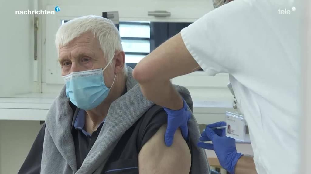 Impfstart in der Schweiz