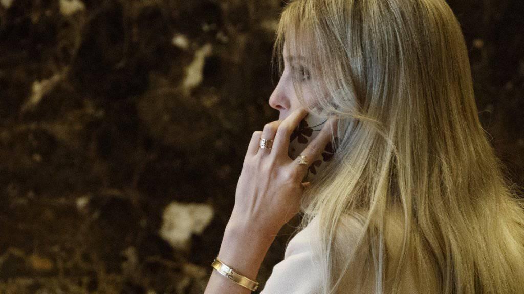 Armreif des Anstosses: Ivanka Trumps Schmuckfirma wirbt nach TV-Auftritt für 10'800-Dollar-Ring.