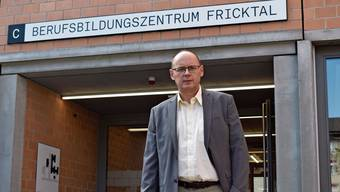 Der neue Rektor Tom Krause glaubt an die Zukunft des Berufsbildungszentrums Fricktal.