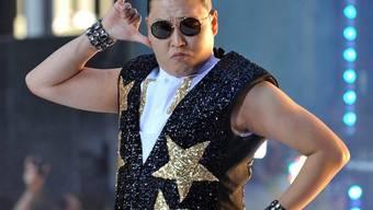 Grosse Bühne für den Sänger Psy