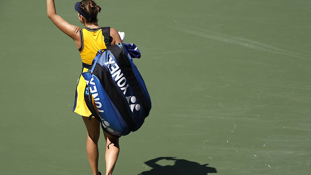 Belinda Bencic verlässt den Platz vorzeitig. (Archivaufnahme)