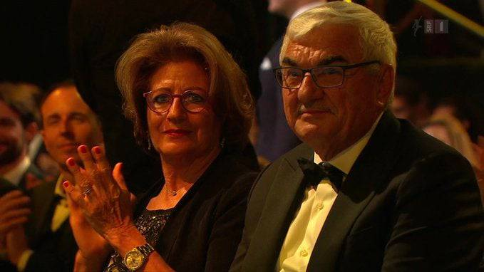 Lynette und Robert Federer vertraten Sohn Roger.